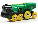 BRIO(ブリオ) 緑のアクション機関車