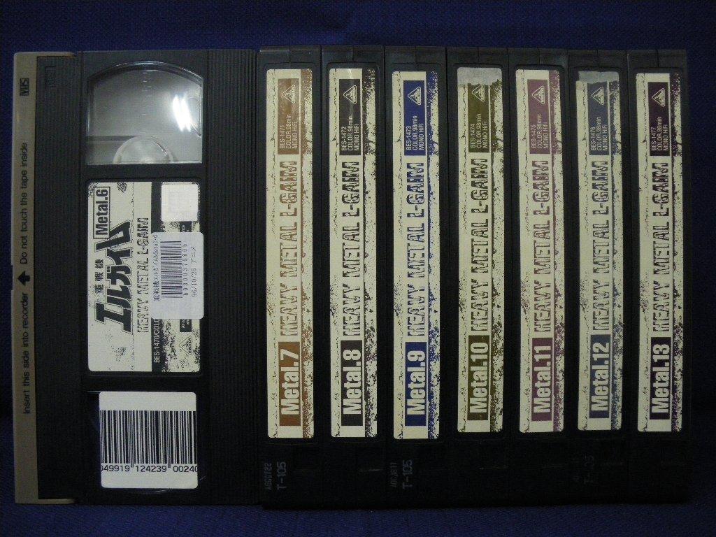 RS_068【中古】【VHSビデオ】重戦機エルガイム 6〜13 8本セット