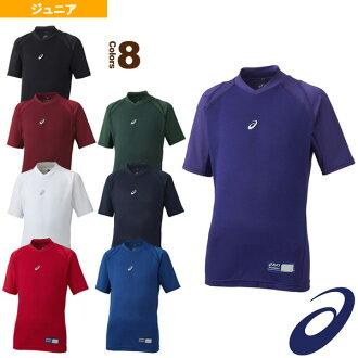 ASIC /asics 棒球男孩背心 (短袖) 小...身體伊莉莎 FX HS DN / 雙頸部和短袖 / 初中 (BAB12J)