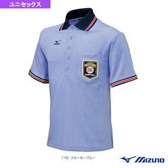 [美津濃棒球服裝 (男裝 / UNI),短袖襯衫和棒球裁判為 (52HU154)
