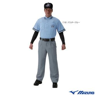 [美津濃壘球被 (男裝 / UNI),短袖襯衫和壘球裁判員,為 (52HU150)