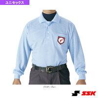 審判用長袖ポロシャツ/3シーズンモデル(UPW028)『野球 ウェア(メンズ/ユニ) エスエスケイ』の画像