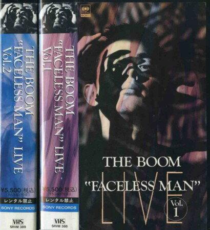 【VHSです】FACELESS MAN LIVE...の商品画像