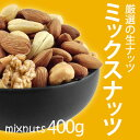 ミックスナッツ 500gより少し少ない400g 5種類 無添加 無塩 無油 アーモンド カシューナッツ くるみ パンプキ...