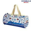 ダブルB【DOUBLE B】トロピカル柄☆ドラム型ビーチバッグ(プールバッグ)