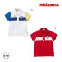 ミキハウス正規販売店/ミキハウス mikihouse マリン風プッチー半袖ポロシャツ(80cm・90cm)