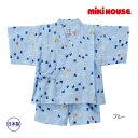 ミキハウス正規販売店/ミキハウス mikihouse プッチー 千鳥柄甚平スーツ(100cm・110cm)