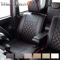 スペーシアカスタム シートカバー MK32S 一台分 ベレッツァ S632 ワイルドステッチα シート内装