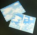 レターセット 空と風船と紙ひこうきG CGL119-2(A-0) ダイカット 便箋封筒2種類ずつ入ってます クリエートG