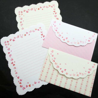 2 lame Hart die-cut letters set CGL145-2 die-cut paper envelopes included! Create G