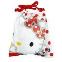 サンリオ ハローキティ(Hello Kitty) コットンバッグ(S)RD /MS8450KT/RD (15) 松尾繊維工業