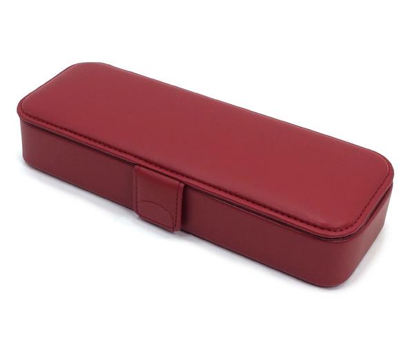 コブ COBU 筆箱マグネットL(牛革製) マグネット式 レッド C14RD 小泉製作所