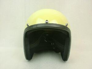 オリジナル アイボリー ビンテージヘルメット ハーレー アメリカン ストリート