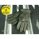 鹿革グローブ EXTRAWARM/ウィンターグローブBLACK(黒)napa glove ナパグローブ811TL検索ワード(冬用グローブウィンターグローブ/ハー...