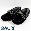 EMUエミュー(emu) モカシン Amity アミティー W10555-black