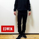 【セール】EDWIN(エドウィン) E STANDARD スキニー ストレッチデニム 日本製 ED22-101 BLACK