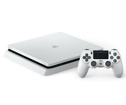 新品 PlayStation 4 <strong>本体</strong> グレイシャー・ホワイト 500GB CUH-2200AB02