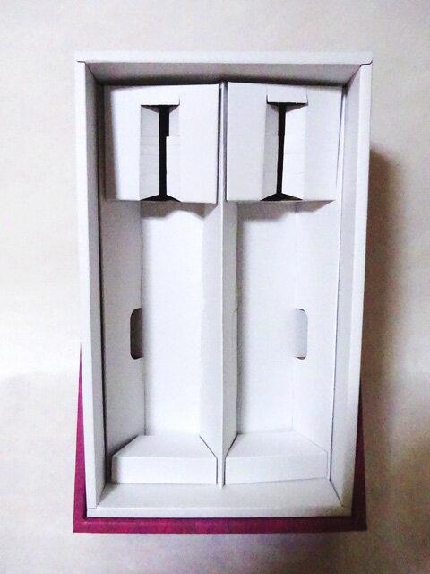 贈答用化粧箱 4合瓶2本用(青・ワインレッド)の商品画像