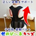 子供用 姿勢ベルト 子供 姿勢 身長 背 伸ばす 矯正 強制...