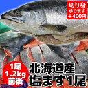 【よりどり5品対象】上質な鱒をご堪能下さい! 北海道産塩ます 1尾1,2kg前後のサイズです。 [よりどり対象]