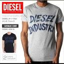 ディーゼル DIESEL Tシャツ メンズ 半袖 ロゴ 00SGFJ 0091B T-AETHALAS T-SHIRT DS41165SL 正規品プレゼント ギフト 送料無料