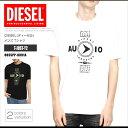ディーゼル DIESEL Tシャツ メンズ 半袖 Tee 00SSPP 0091A T-JUST-Y2 ビッグシルエット ゆったり DS41294SL メール便送料無料