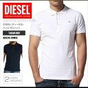 ディーゼル DIESEL ポロシャツ 半袖 メンズ 00SZJS 00MXZ T-KALARS ゴルフ ワンポイント DS45029SL