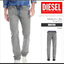ディーゼル DIESEL ジーンズ デニム パンツ メンズ BUSTER 0835F レギュラースリムテーパード クラッシュ加工 DS7326