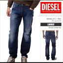 ディーゼル DIESEL デニム ジーンズ パンツ メンズ LARKEE R842R_STRETCH レギュラーストレート ウォッシュ加工 DS7420