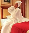 ホテルのバスローブ(ワッフル地タイプ)