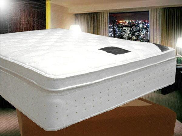 最高級ホテルベッド 上下セット PSシングルサイズ(片面立体ピローソフト仕様) ホテルベッ…...:hotel-room:10000381