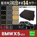 BMW X5 (E53) トランクマット ◆選べる14カラー HOTFIELD 光触媒加工済み 送料無料 マット 車 カーマット カーペット 車用品 カー用品 日本製 ホットフィールド ラゲッジ ラゲッジマット グッズ パーツ おしゃれ