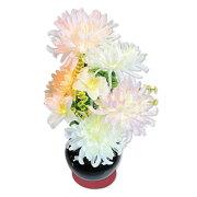グランドルミナス いろどり菊 法徳堂限定 専用 保護 マット 付き LED 盆提灯 仏花 送料無料