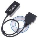 WiFi OBD2 コネクター  WiFi 車診断機 スキャンツール ELM327 OBDII スマホ iPhone 対応 A0327WN WIFIOBD-N