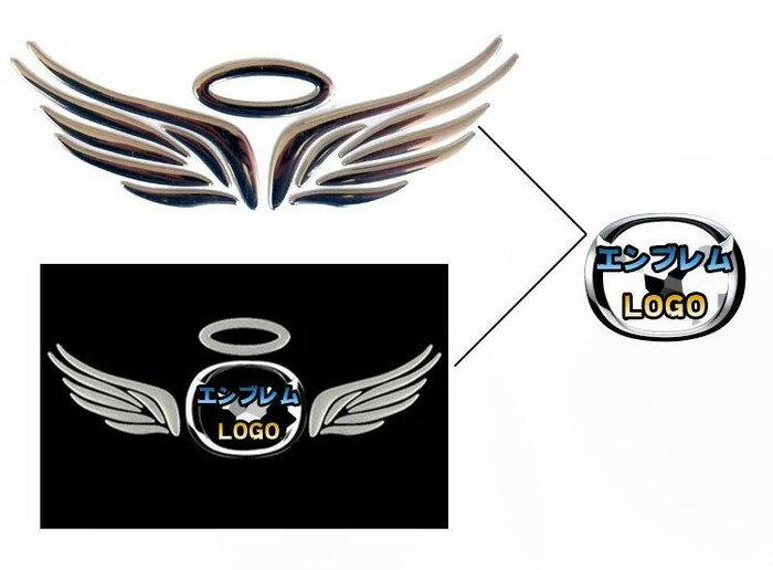 車エンブレムステッカー 3Dステッカー 小悪魔...の紹介画像3