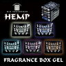 メール便可//ノル:芳香剤 HEMP ヘンプフレグランスボックスジェル COCONUT ココナッツ 置き型 170g/OA-HXG-1-5