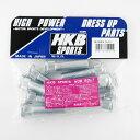 HKB SPORTS (東栄産業) 10mmロングハブボルト 新ニッサン 5穴 P1.25/14.3 10本入 HK30/