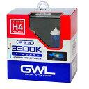 ミラリード:H4/H4U 3300K ハロゲンバルブ ノマルカラー 車検対応/S1405/