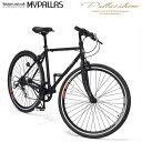 MYPALLAS/マイパラス 池商 クロスバイク26インチ 6段変速 自転車 シンプル グリップシフト クイックレリーズ M-605