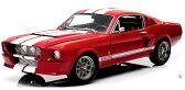 1/18 GREENLIGHT☆1967 シェルビーGT500 赤/白 フォード・マスタング エレノア 60セカンズ 【予約商品】