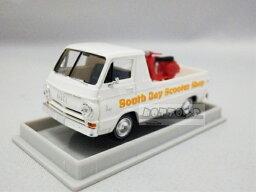 1/87 ブレキナ☆ダッジ・A100 ピックアップトラック ベスパ付き♪ South Bay Scooter Shop 白【絶版】