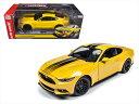 ミニカー 1/18 AUTOWORLD☆2016 フォード マスタング GT 黄色 特別限定モデル!【予約商品】