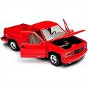 De Tomaso - ミニカー 1/24 MOTORMAX☆1992 GMCシエラ(Sierra)  ピックアップトラック 赤 【予約商品】