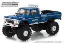 ミニカー GREENLIGHT モンスタージャム 1/43 Bigfoot 1 The Original Monster Truck - 1974 Ford F-250 青 モンスタートラック 【予約商品】
