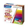 DVD-RW(Video with CPRM) 120分、1〜2倍速 1組(10枚)P20Aug16