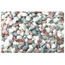 【日本玉石】 砂利(水槽用) 5kg 新五色 粗目【アクアリウム】 86379103532P17Sep16