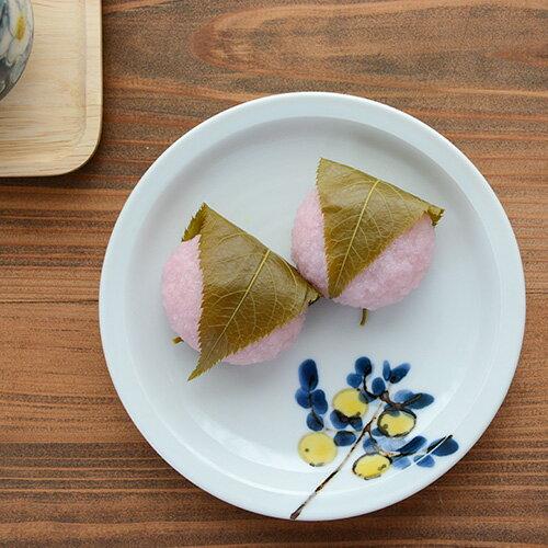 九谷青窯 米満麻子 レモンの木/5寸平皿【九谷焼 くたにせいよう】