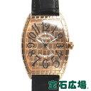 フランクミュラー FRANCK MULLER トノウカーベックス ゴールド クロコ 6850SC GOLD CRO【中古】メンズ 腕時計 送料無料