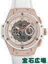 ウブロ キングパワー ウニコ キングゴールド ホワイトパヴェ 701.OE.0128.GR.1704【新品】【メンズ】【腕時計】【送料・代引手数料無料】