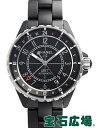 【シャネル】【J12 マットブラックセラミックGMT H3101】【新品】【メンズ】【腕時計】